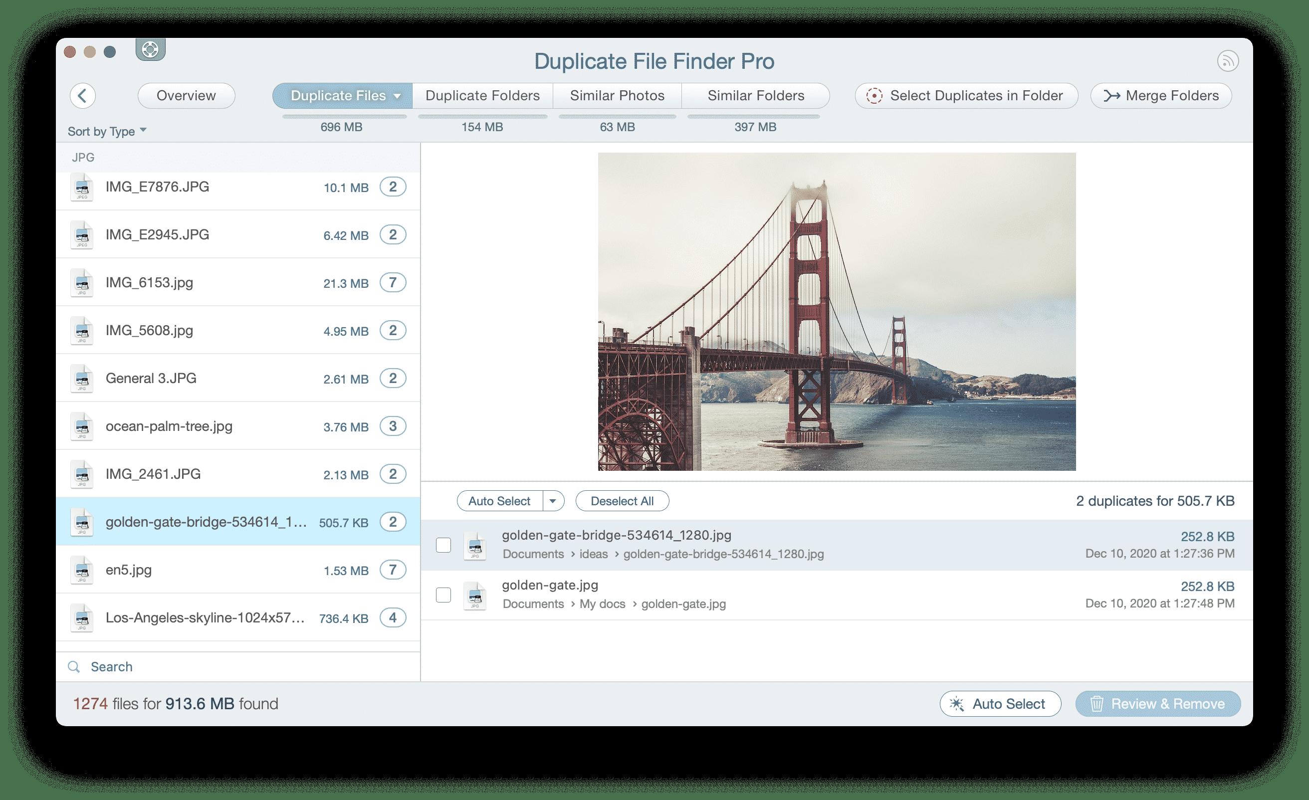 Duplicate file finder find duplicate images