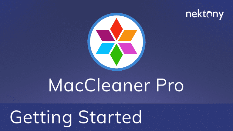 Getting started with MacCleaner Pro