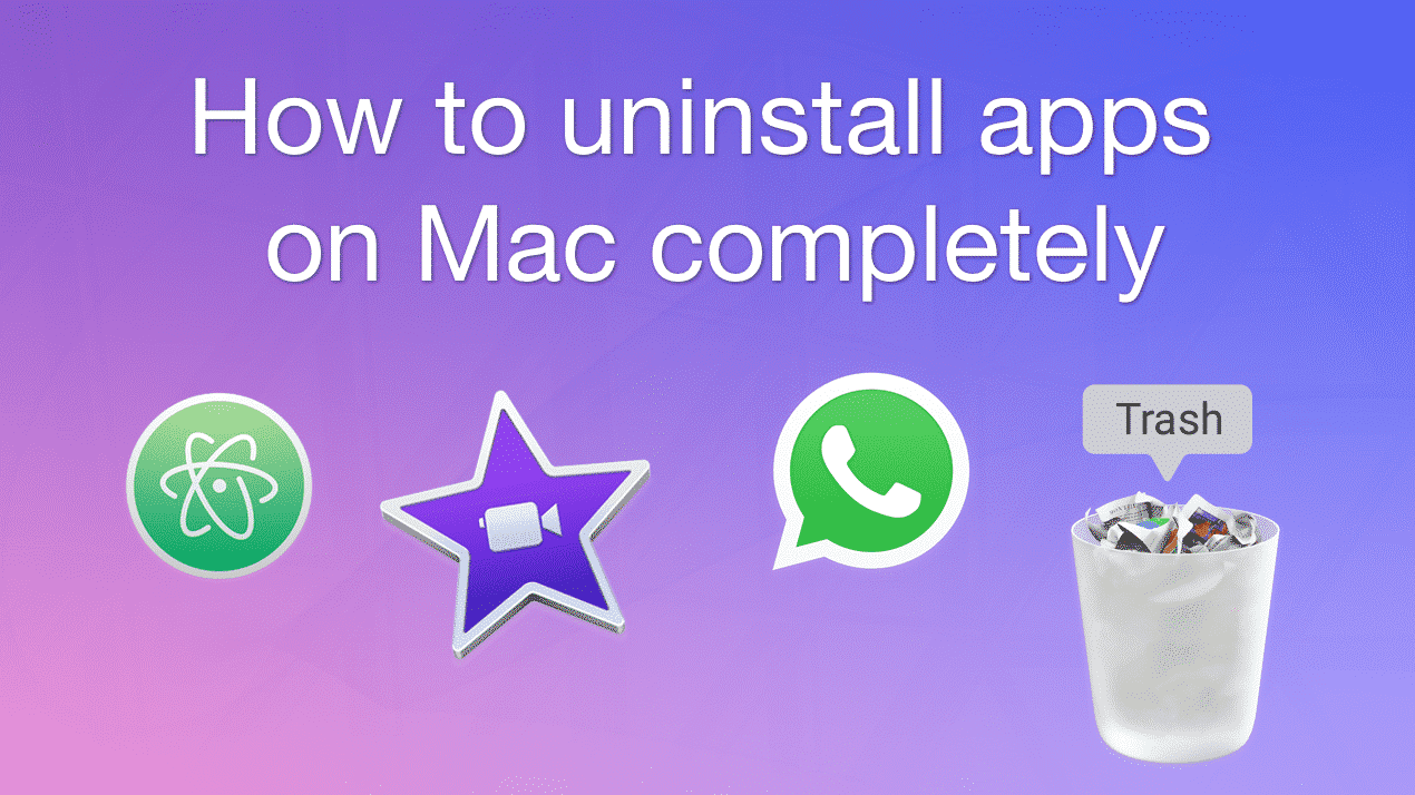 How to uninstall apps