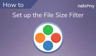How to set up the minimal file size filter in Duplicate File Finder