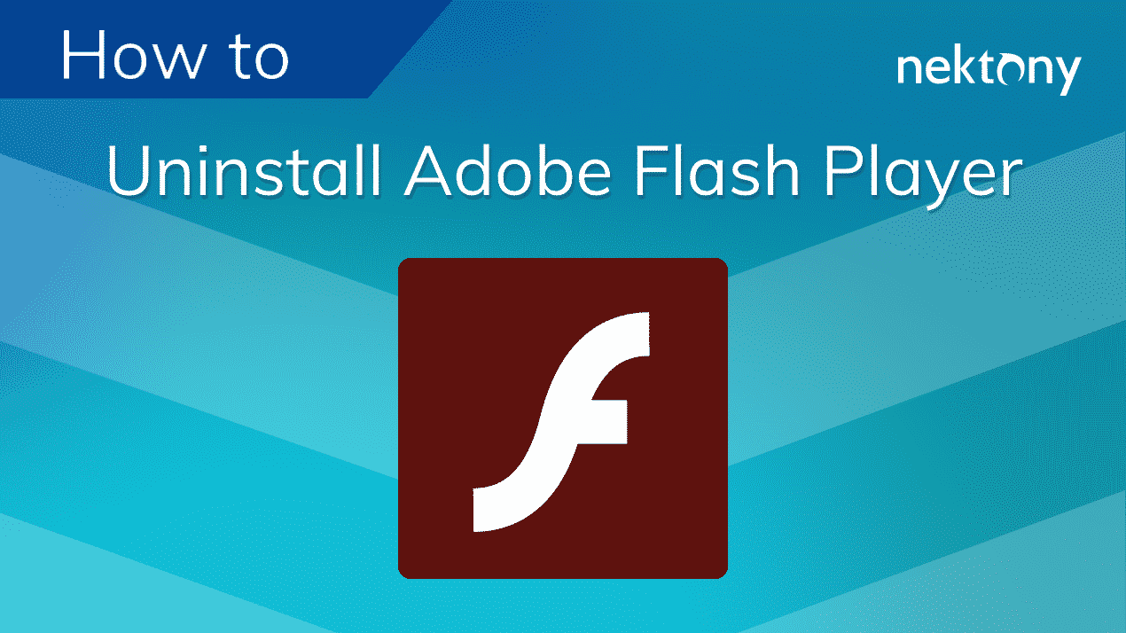 banner uninstall adobe flash player