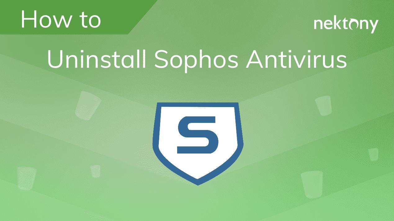 uninstall sophos antivirus banner