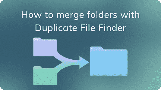 banner for Video guide merge folders with DFF