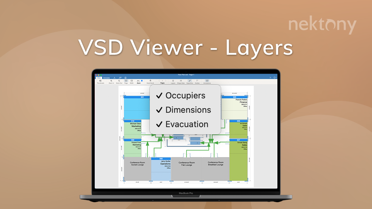 VSD Viewver layers banner
