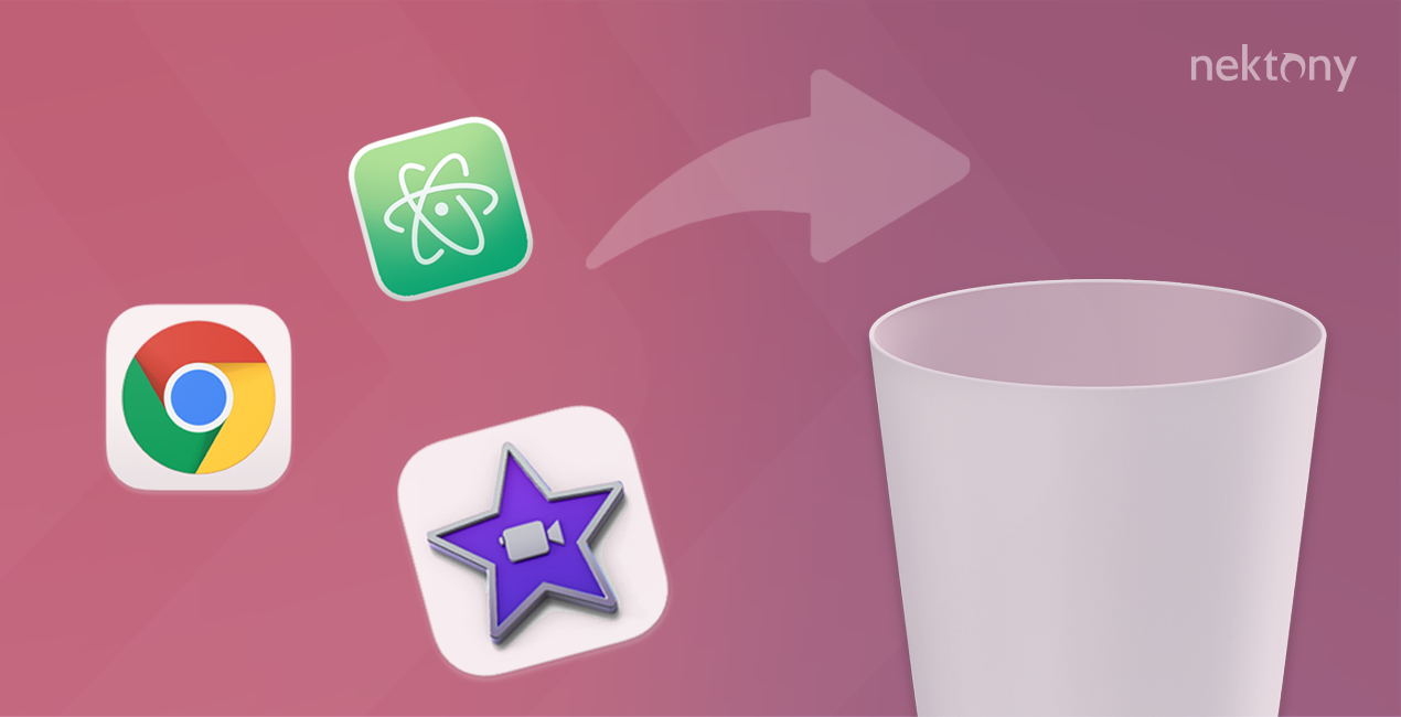 removing apps on Mac