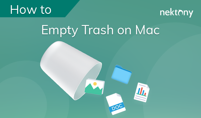 How to empty the Trash on Mac?