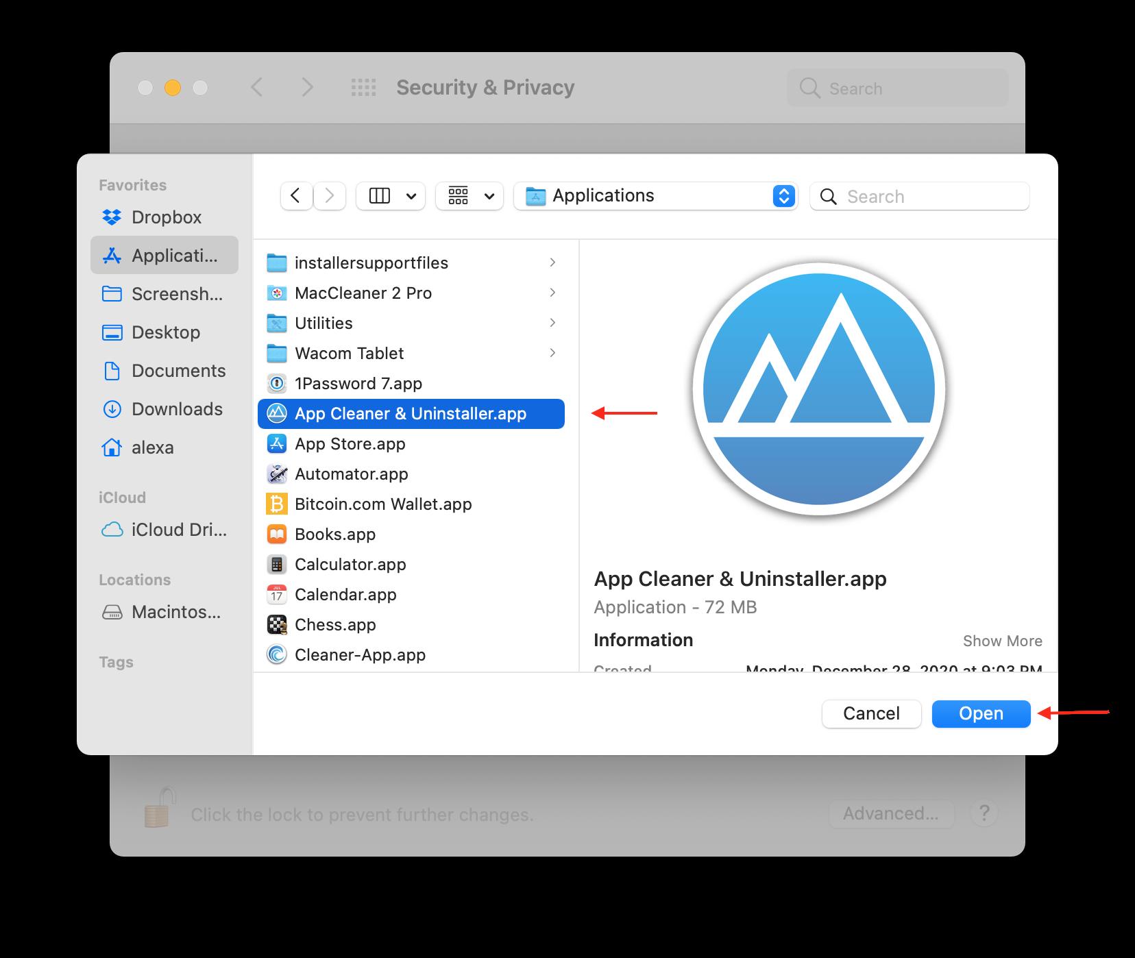 app cleaner uninstaller full disk access