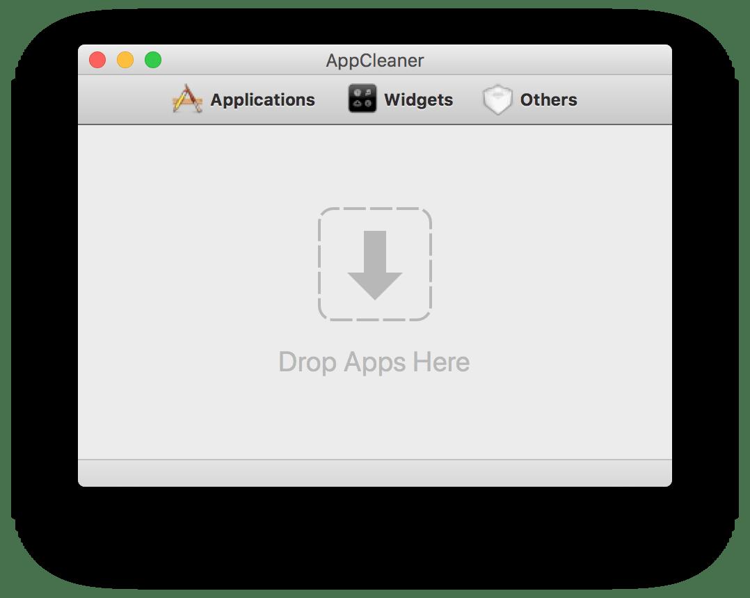 AppCleaner start window
