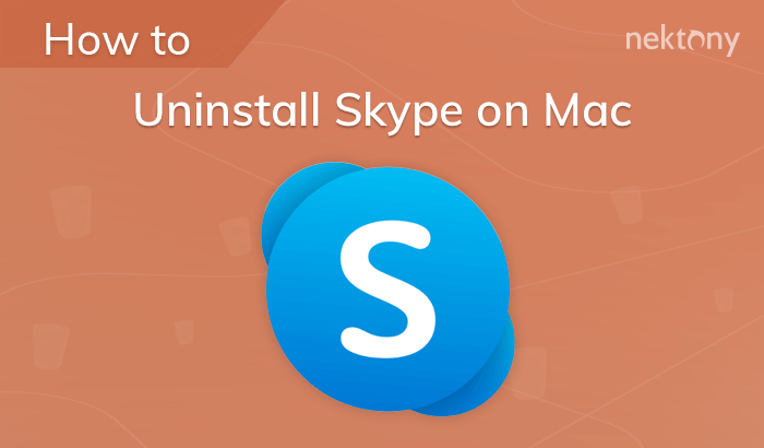 Uninstall Skype on Mac