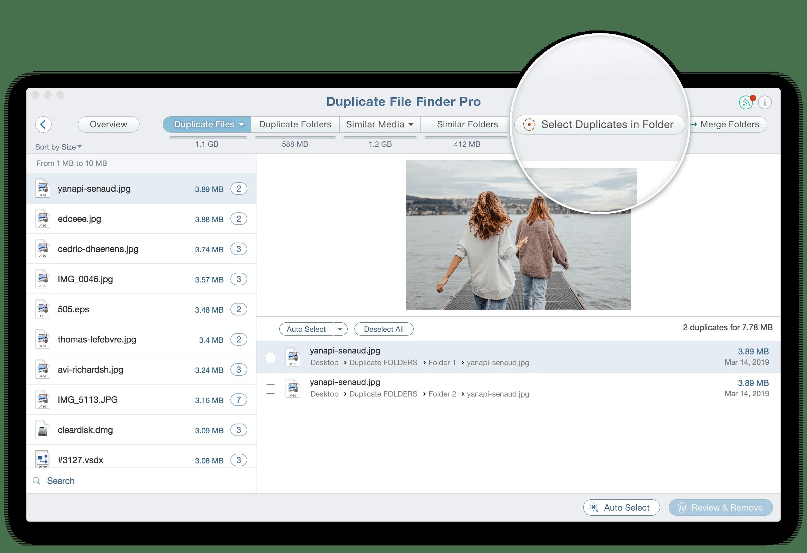 mac os find duplicate files