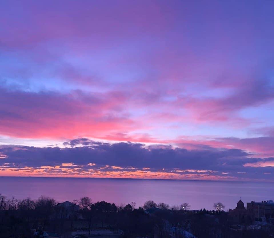 photo of sunrise time
