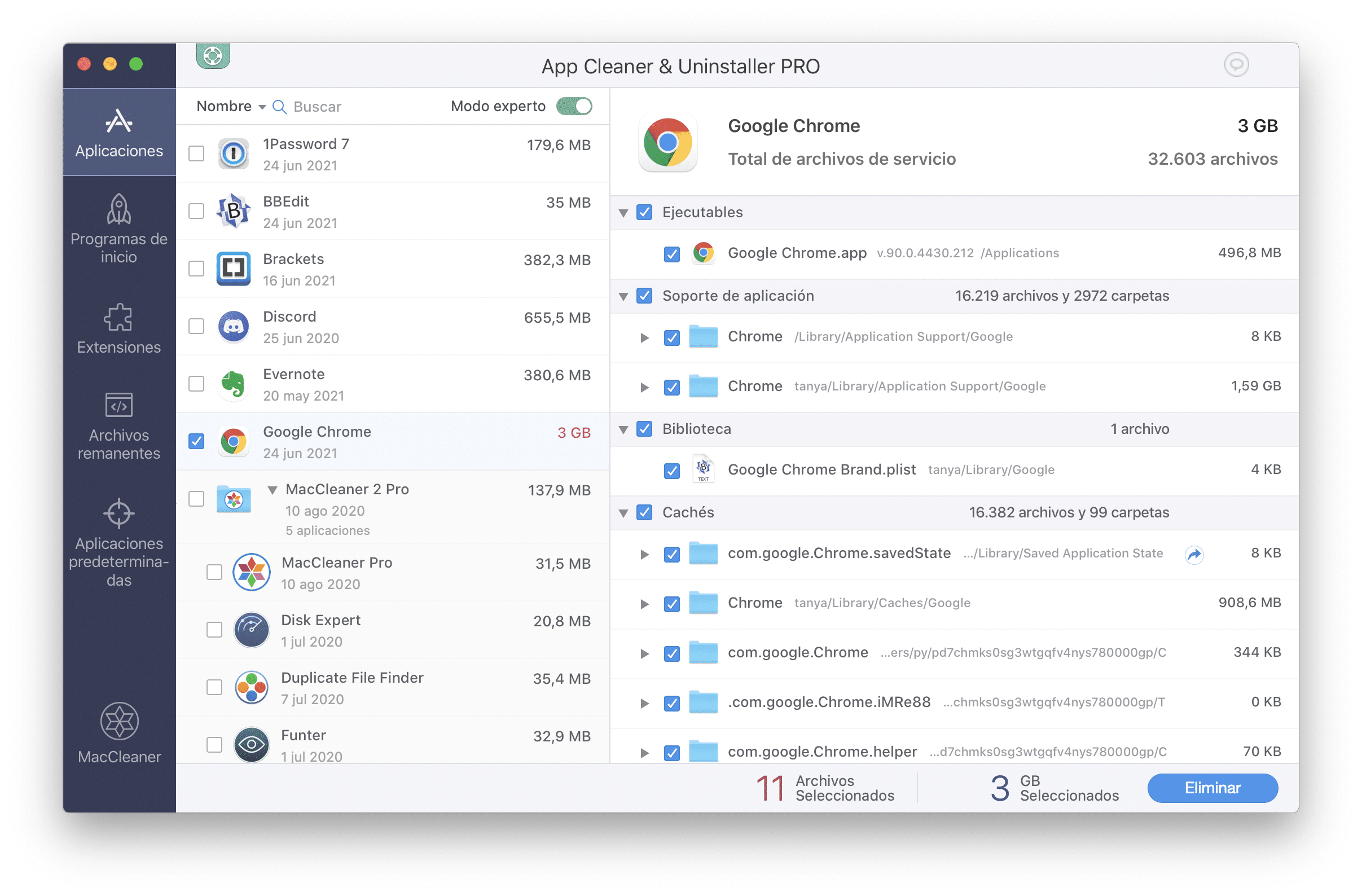app cleaner applications
