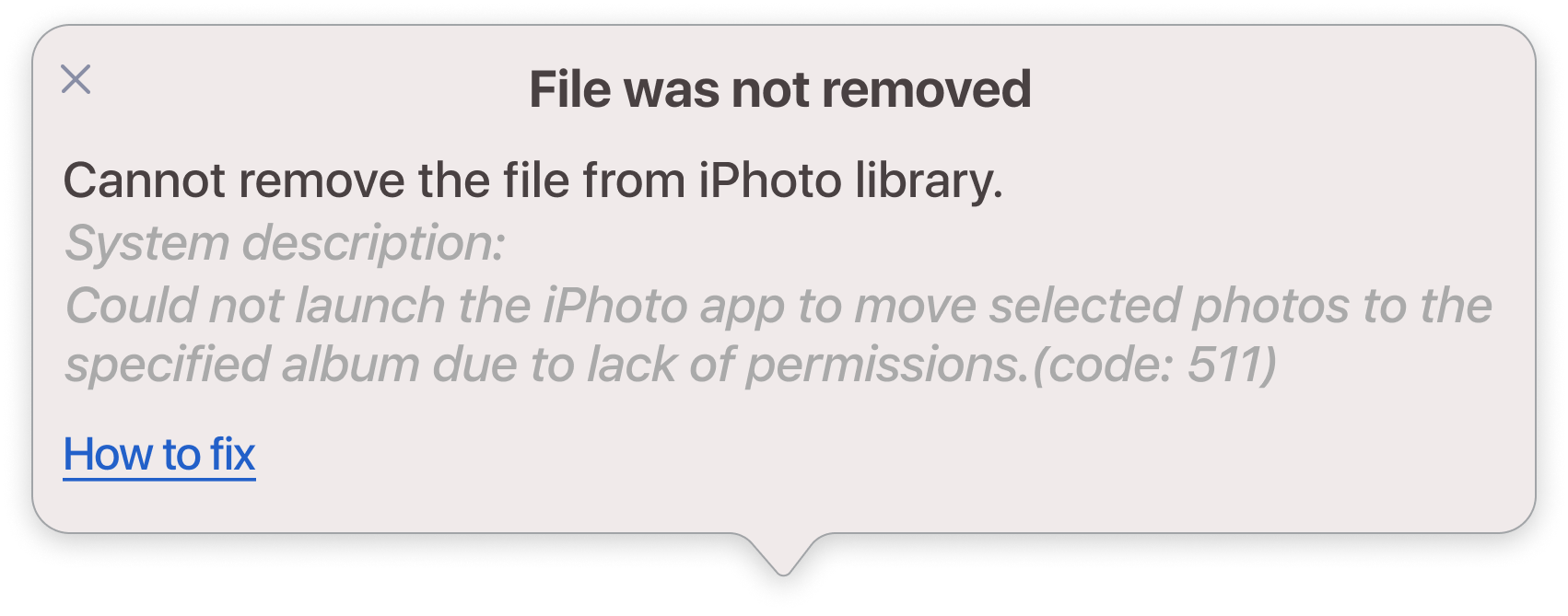 file was not removed