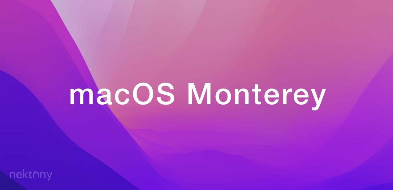 macOS Monterey wallpaper