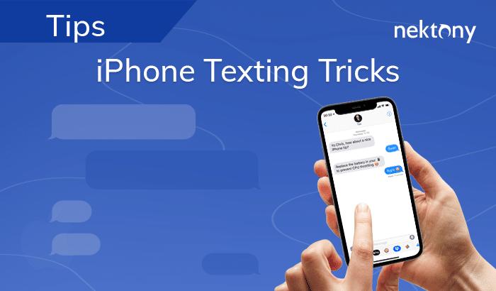 iPhone Texting tricks