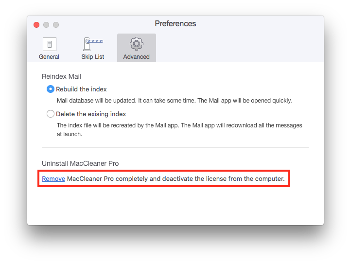 uninstall maccleaner pro from mac