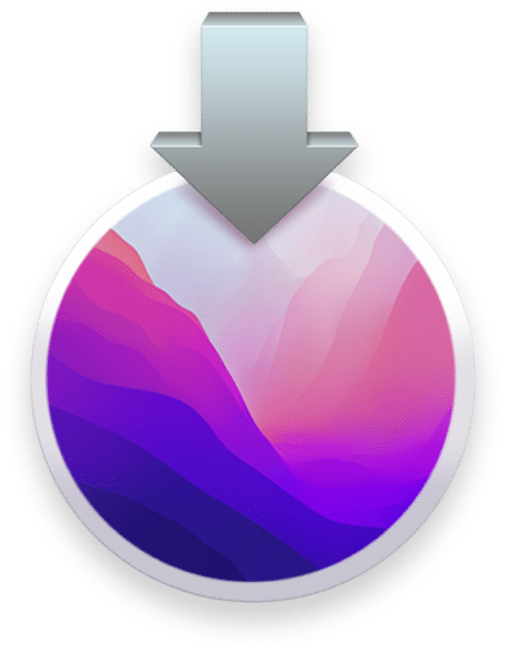 macOS Montterey download icon