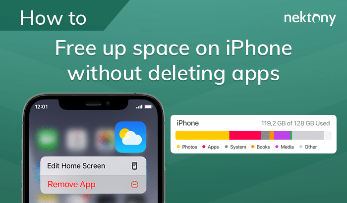 Free up space on iPhone without deleting apps