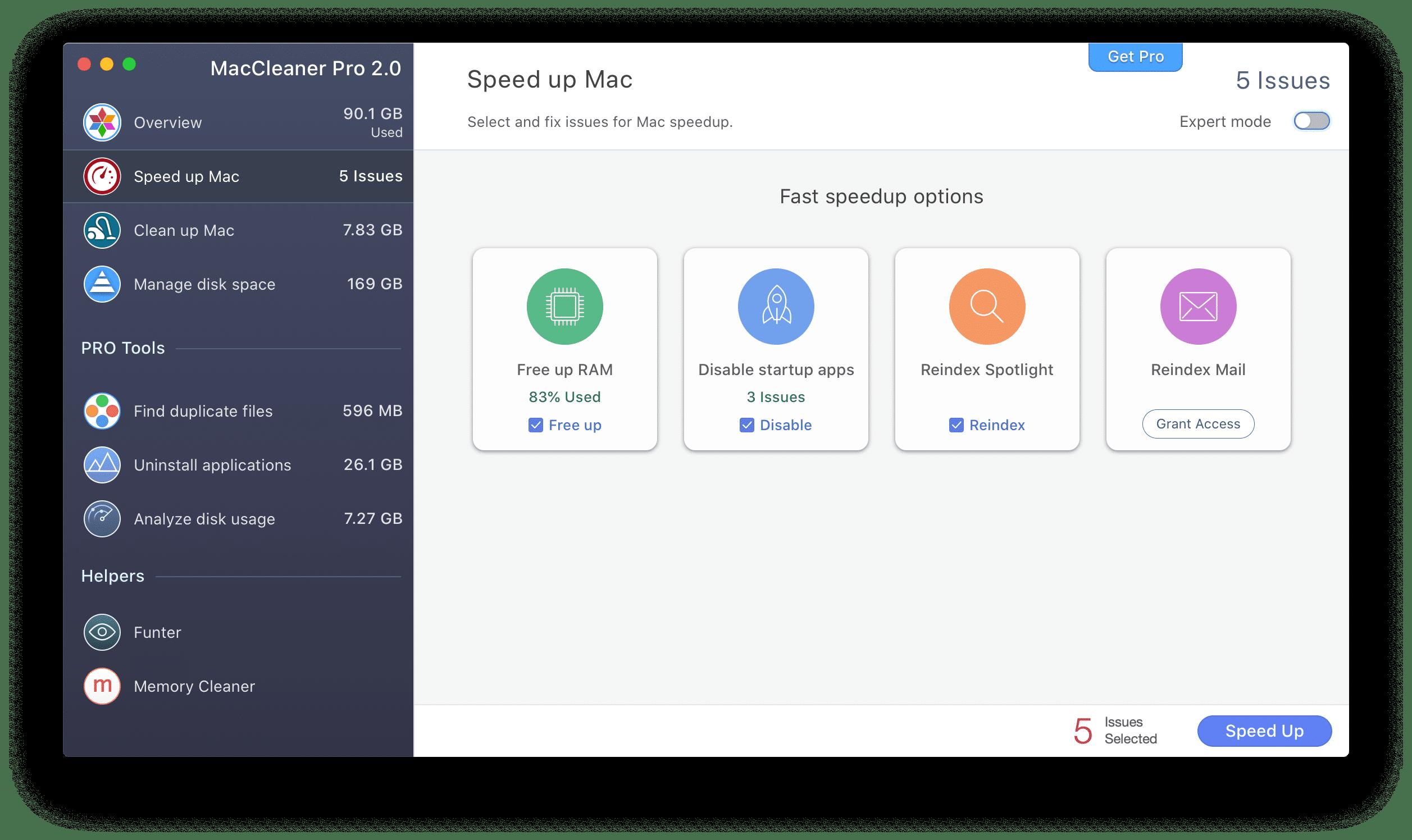 make mac faster