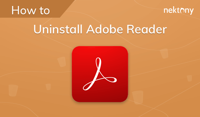 How to uninstall Adobe Reader from Mac