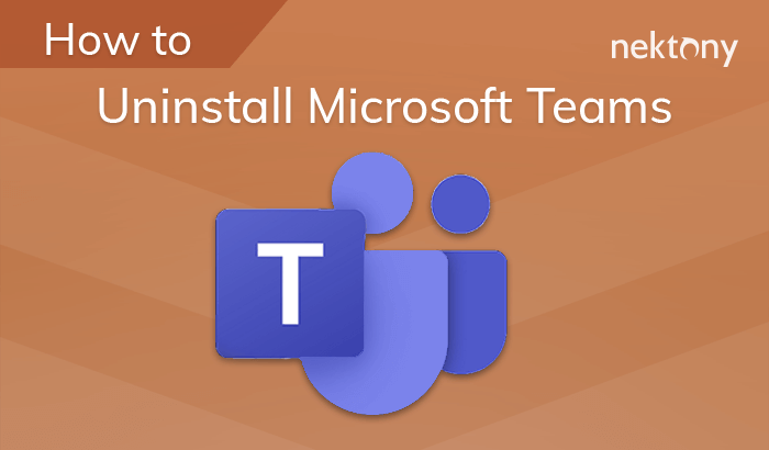 How to uninstall Microsoft Teams from Mac