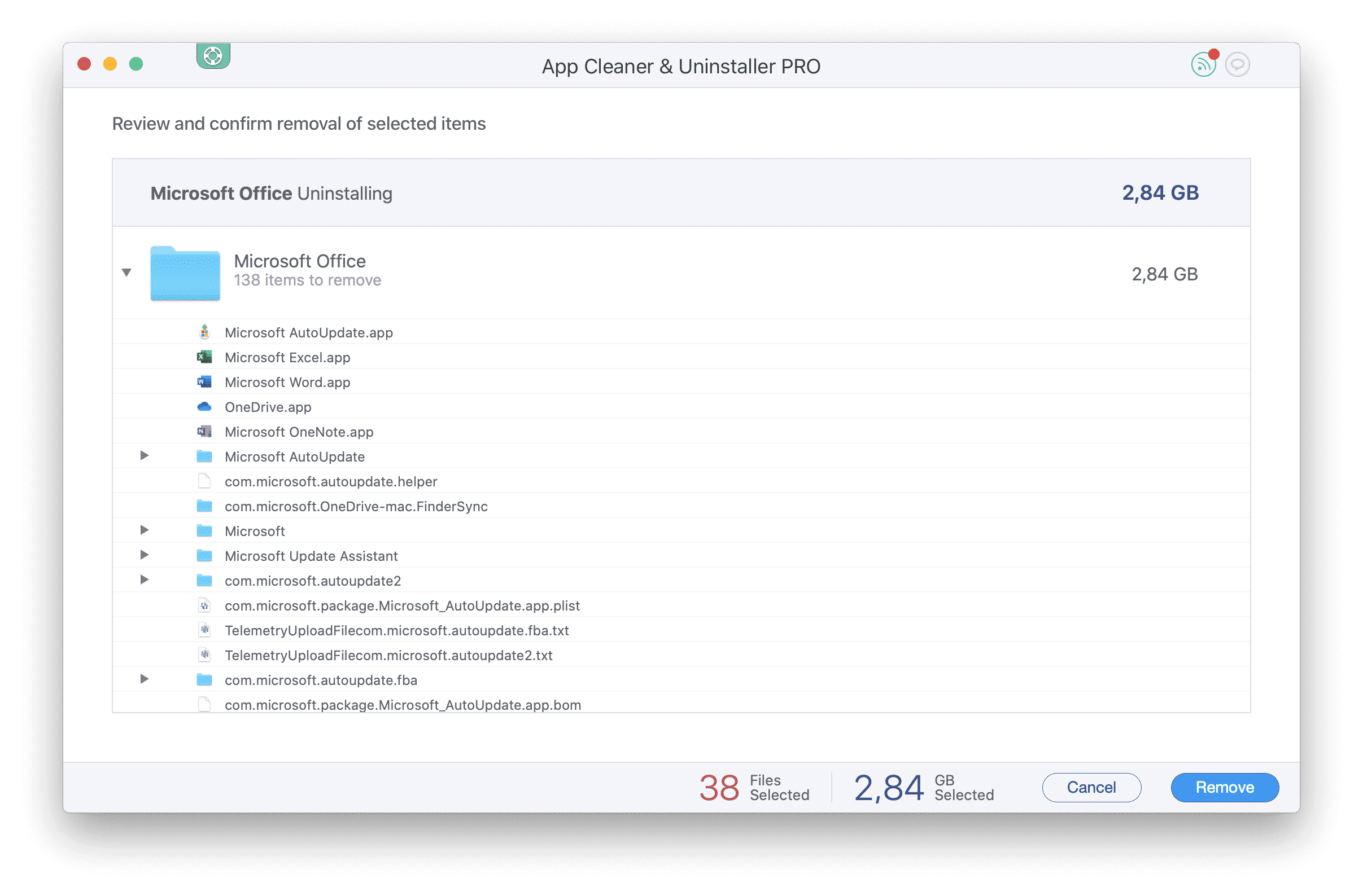 uninstall app on mac